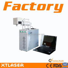 sealing element 10W laser Fiber marking machine with rotary system