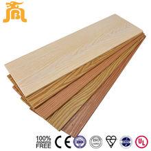Imitation wood grain 3D cement board siding