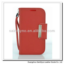 13029 Pu leather cover case for samsung galaxy grand