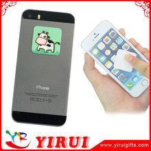 YS162 heat transfer printed sqaure shape mobile phone screen sticky cleaner