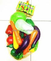 lifelike artifical fruit & vegetable toy