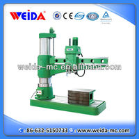 radial drilling machine Z3080x25 for metal drilling tapping max.dia 80mm
