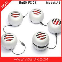 Mobile Portable Music Speaker Amplifier Mini Ball Audio Docks 3.5mm Jack