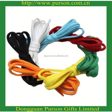 Factory wholesale branded custom basketball shoes laces