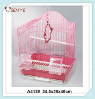 Cheap folding metal Bird cage ,portable bird cage,wire bird breeding cage