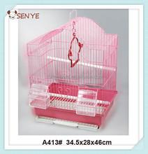 Cheap folding metal Bird cage ,portable bird cage,wire bird breeding cage
