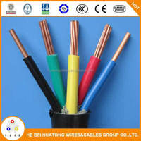 China low voltage 5 core xlpe power cable