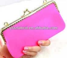 Silicone travel chain coin purse,wallet