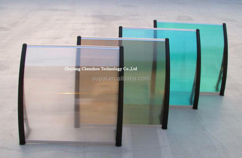 en plastique support auvent moderne aluminium pluie auvent prend en charge marquise de porte. Black Bedroom Furniture Sets. Home Design Ideas