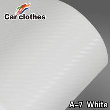 1.27x30m Car Wrap 30m Adesivo Vinil 3D Carbon Fiber Sticker