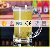 China alibaba top selling different types of beer glasses/beer glass types/custom glass beer mugs