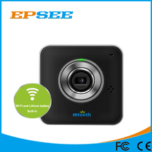 720P smallest battery powered Micro wireless ip camera with battery