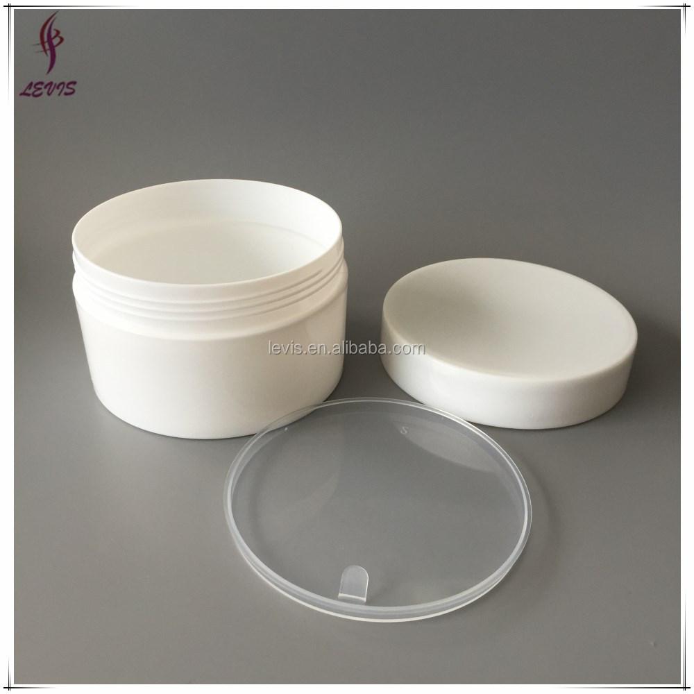 Custom round plastic cosmetic jars 300 ml buy cosmetic for Custom cosmetic jars