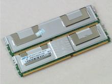 Original brand 2GB/ 4GB PC-5300F 667MHz ECC FBD DDR2 SDRAM DIMM, Server ram