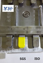 molded rubber components 12v cartridge heater Plastic Injection Sheath Mould with Four Cavities
