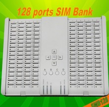 SMB128 Remote SIM Bank with 128 SIM supporting GoIP and SIM Server