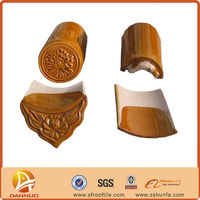 Professional Chinese traditional shingle clay roof tiles
