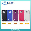 light hybrid case TPU plus leather free sample phone case for samsung note 4
