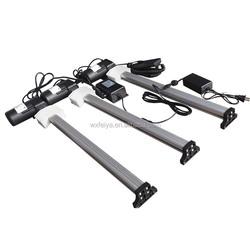 12V dc actuarator motor gear liner for TV lift 750N