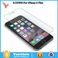 factory supply Vserstore anti-shock tempered glass screen protector for iphone 6s 2-3 days delivery