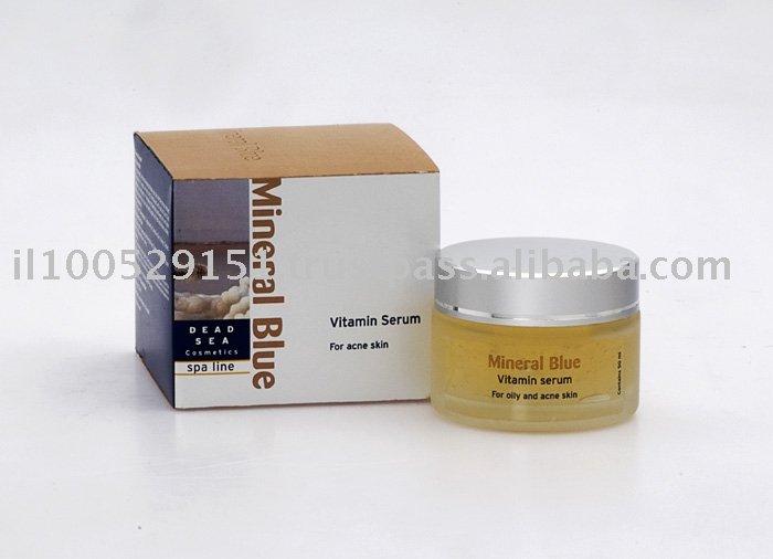 Vitamina soro para a pele Acne