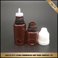 Express 350ml pet plastic juice bottle evidentproof cap for childproof cap dropper bottle