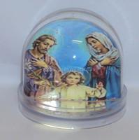 plastic snow dome