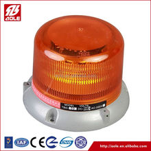 New Style Waterproof small led light bar warning beacon magnetic barlight amber light