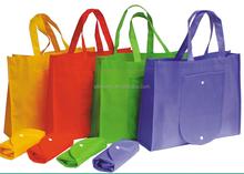 "Sac non woven blank foldable bag 12""w x 14""h x 6""d"