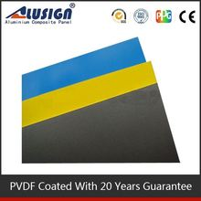 Alusign light weight hot sell acp new design aluminum composite acp cladding