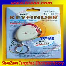 Personalised Sound Key Finder Flashing Key ring