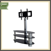 trolley tilting lcd alloy wheel from maiker tv stand