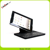 Hot Selling 360 Degree Rotate Bluetooth Keyboard Protective Case For iPad 4