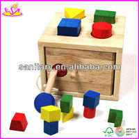 2013 popular Wooden stacking block set with best price W11G003