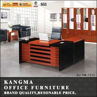 hand carved teak wood furniture dampproof particleboard latest office table designs