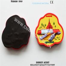 Factory supplier custom 3d tourist souvenir fridge magnet