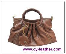 Soft artificial leather handbags of high quality pu handbag fashion women