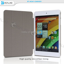 New arrival for acer a1 cover case ,customized leather stand case for Acer A1