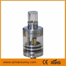 2014 Cool design The Aris RDA clone/ ARIS Atomizer RDA Clone with full galss drip tip