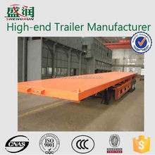 good price good quality 40ft container chasis flatbed trailer