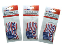 national flag shaped hanging paper car air fresheners in bulk