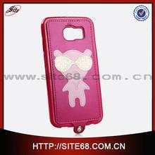 custom cute mobile phone case for samsung S6,accesorios para moviles, las fundas for samsung galaxy s6