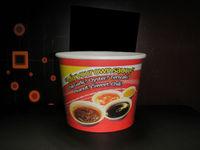 disposable paper bowl, disposable hot soup paper bowl