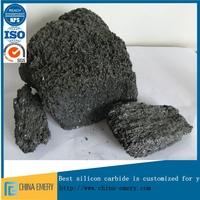 Black Silicon Carbide China Usage in Abrasive Brick 1--10mm 90%
