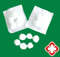 Wholesale Price EO Sterile Bleached White Color Medical Cotton Ball