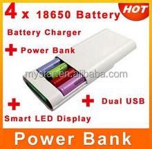 Universal Battery Double USB Ports 3.7V 18650 Power Bank Backup Power Best for Travel