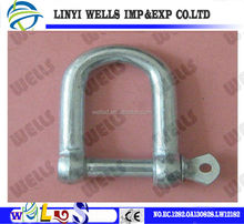 Building/marine and other usage riggings alloy steel large bow bs30325shackle