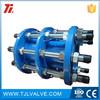 cast iron/carbon steel pn10/pn16/class150 double-sphere flexible rubber expansion joints good quality