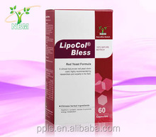 So LipoCol Plus food supplement lower cholesterol extract of Natto and Red yeast rice