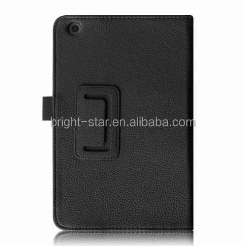 "Lichee Stand Leather Case For Lenovo IdeaTab A5500 8"" A8-50"